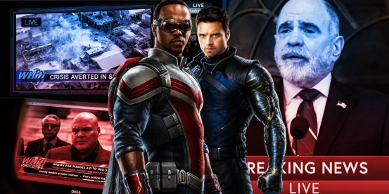 The falcon and the winter soldier used the continuous trick of MCU continuity