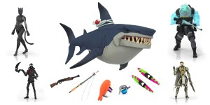 Fortnite Victory Royale toys include a working prey shark