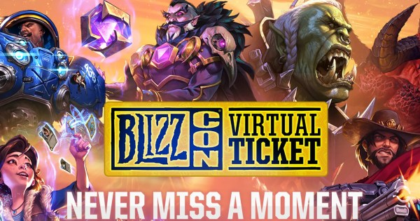BlizzCon Virtual Ticket Items Revealed With Exclusive Overwatch Skins