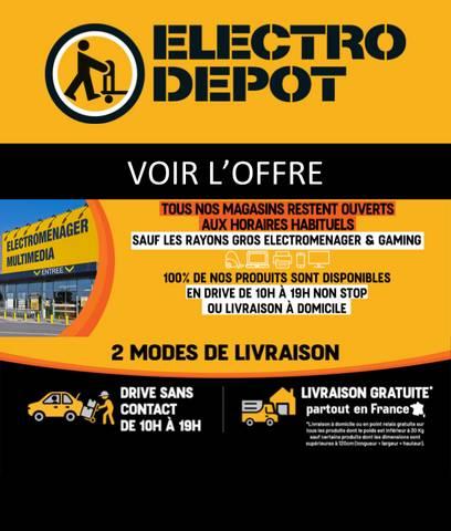 electro depot codes promo et offres