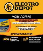 electro depot a paris offres et codes