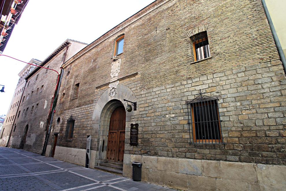 El albergue de Jesús y María en la calle Compañía.. DN. ARCHIVO
