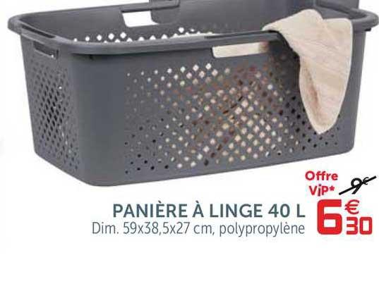 Offre Paniere A Linge 40 L Chez Gifi
