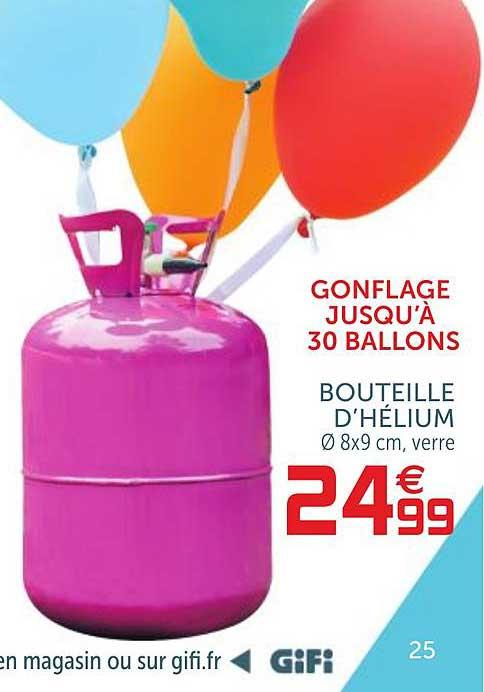 Offre Bouteille D Helium Chez Gifi