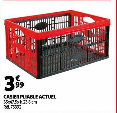 Offre Casier Pliable 45 L Chez E Leclerc