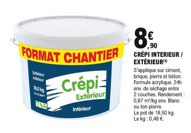 Offre Crepi Interieur Exterieur Chez Eleclerc Brico