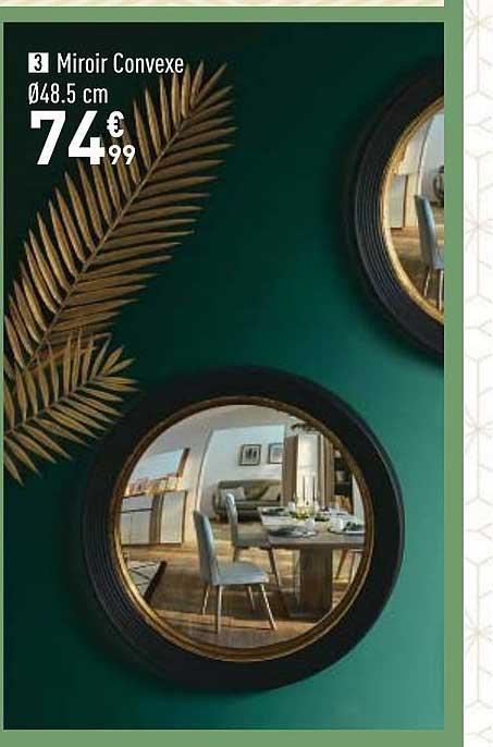 Offre Miroir Convexe Chez Conforama
