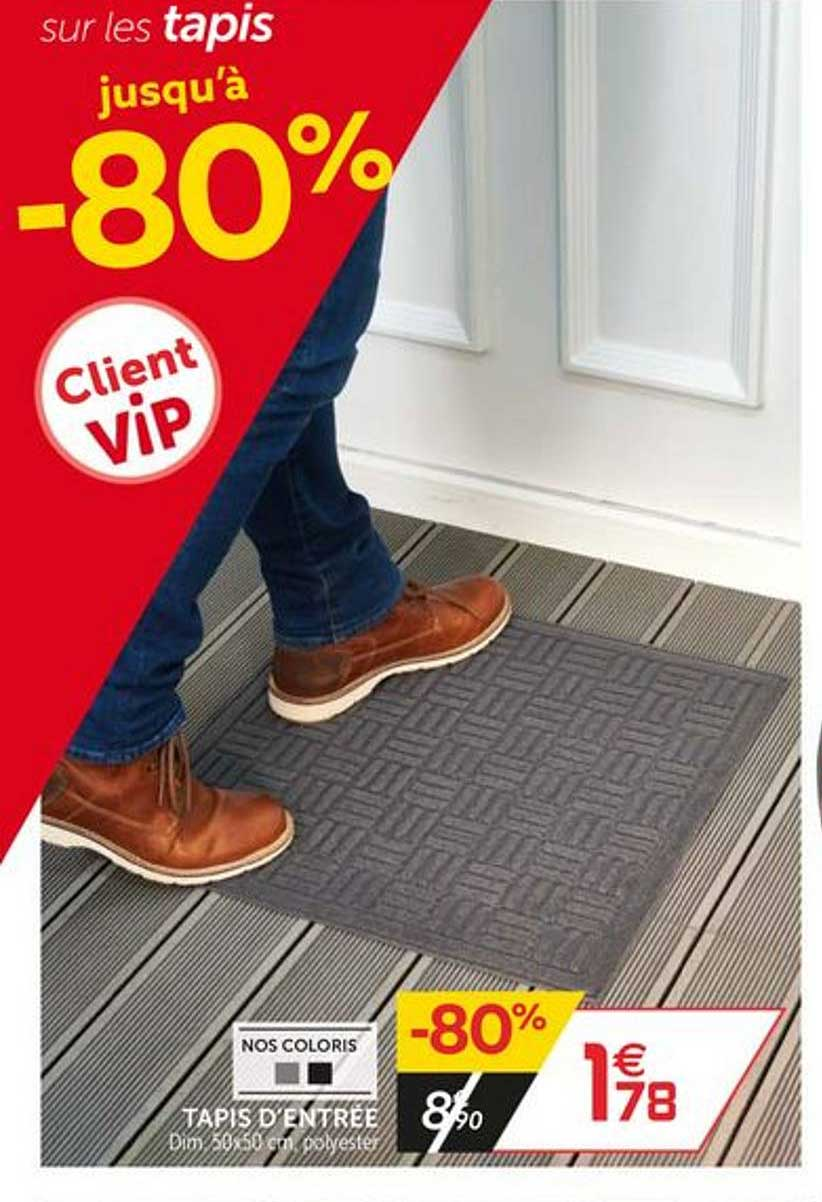 offre tapis d entree chez gifi