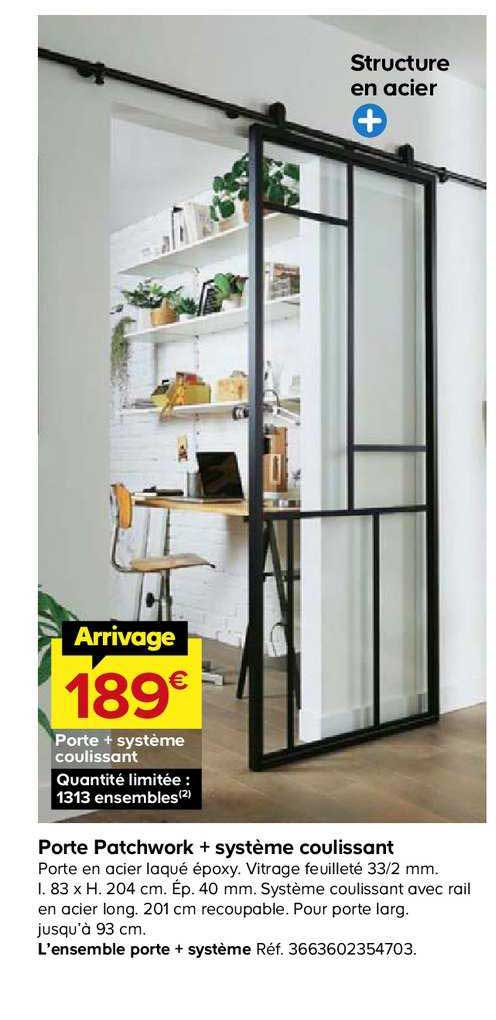 offre porte patchwork systeme
