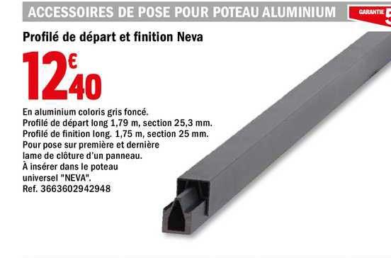 Offre Profile De Depart Et Finition Neva Chez Brico Depot