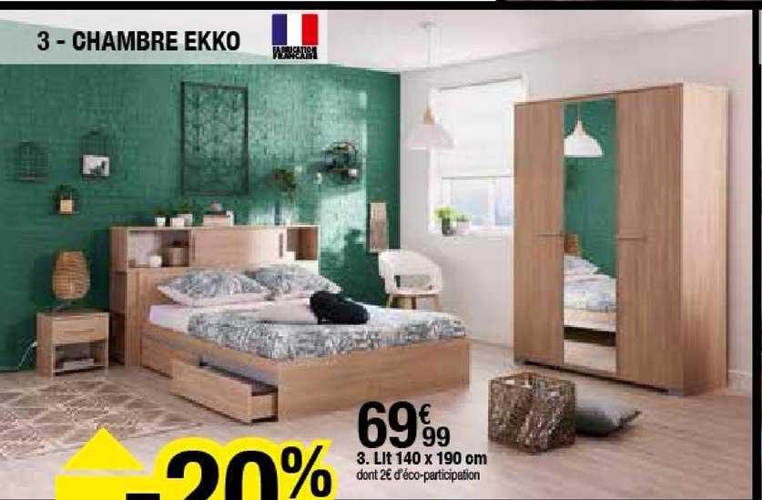 offre chambre ekko chez but