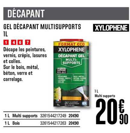 Offre Gel Decapant Multisupports 1l Xylophene Chez Brico Depot