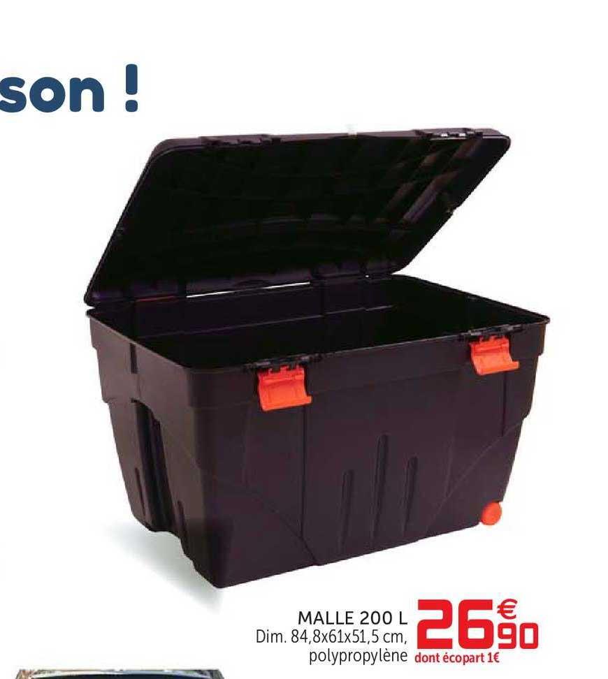 Offre Malle 200 L Chez Gifi