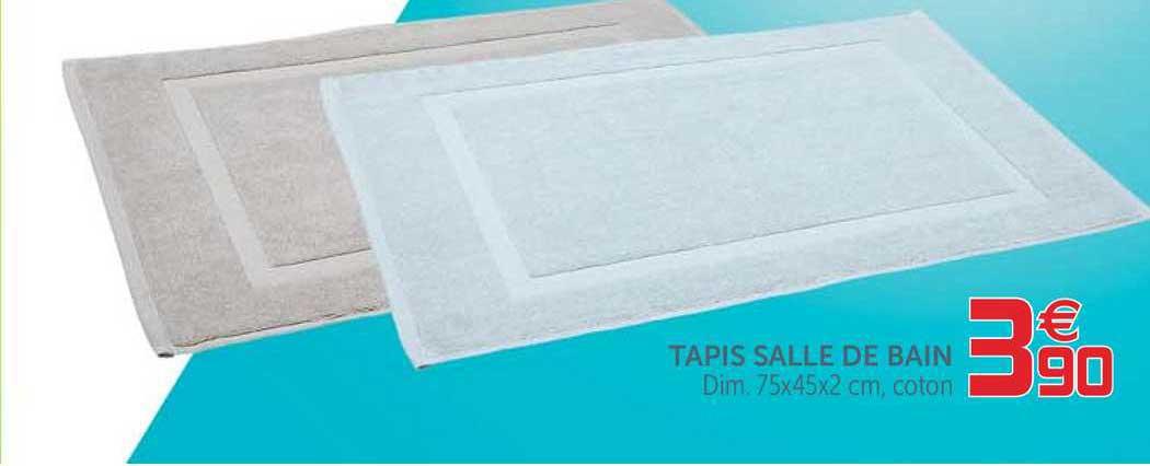 offre tapis salle de bain chez gifi