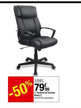 offre fauteuil de bureau kevin 2 chez but