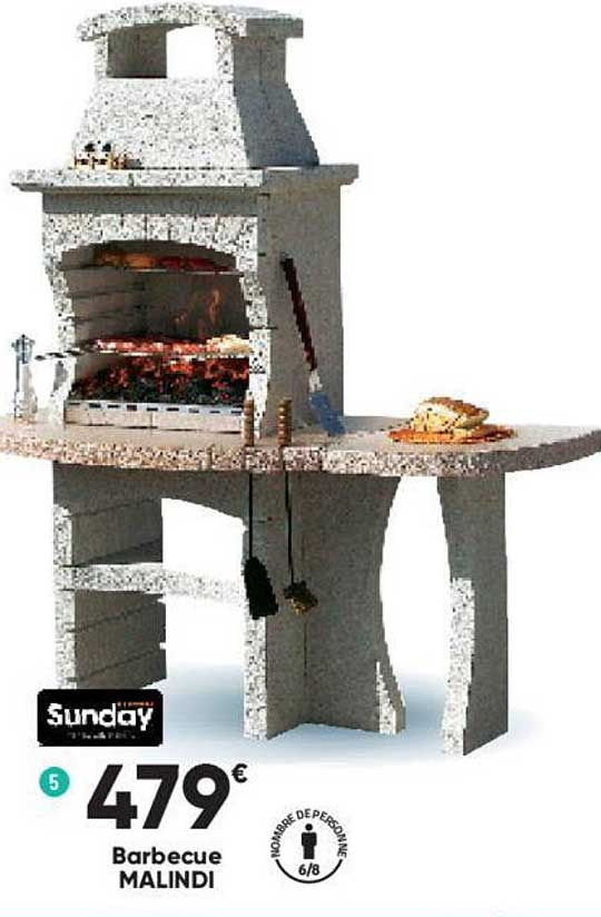 Offre Barbecue Malindi Sunday Chez Bricorama