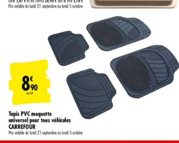 offre tapis pvc moquette universel pour