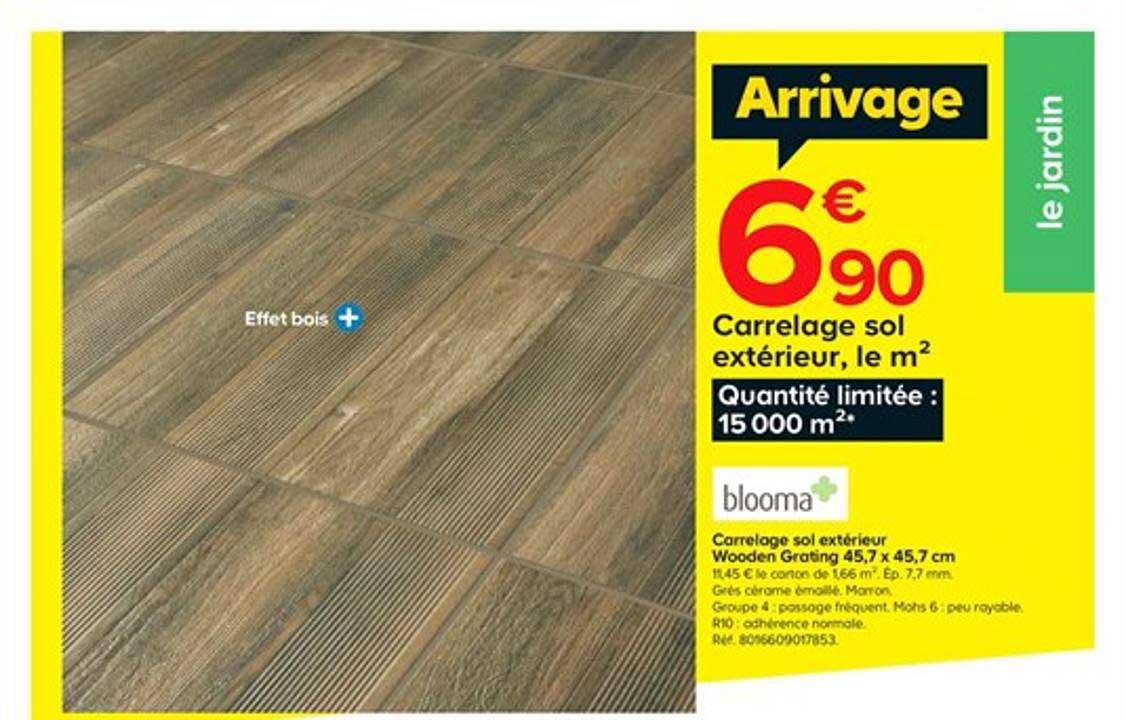 https www icatalogue fr i castorama carrelage sol exterieur wooden grating 45 7 x 45 7 blooma 266249