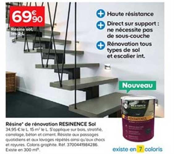 https www icatalogue fr i castorama resine de renovation resinence sol 266273