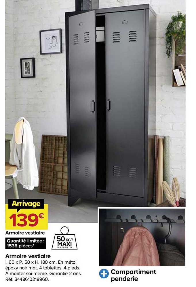 offre armoire vestiaire en metal epoxy