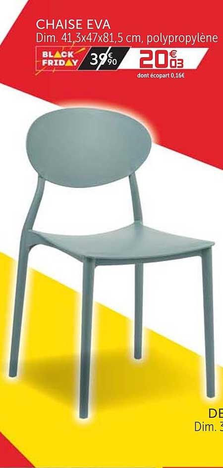 offre chaise eva chez gifi