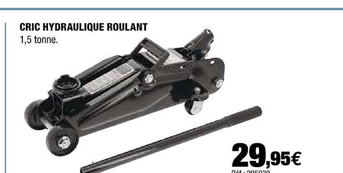 Offre Cric Hydraulique Roulant Chez Autobacs