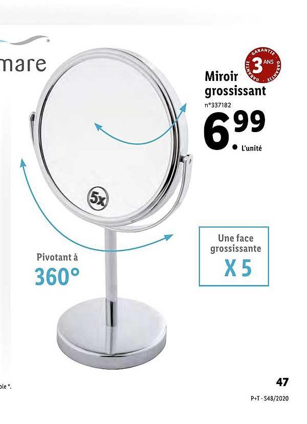 Offre Miroir Chez Brico Pro