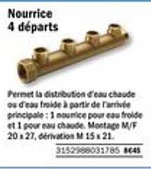 Offre Nourrice 4 Departs Chez Brico Depot