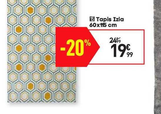 offre tapis izia chez conforama