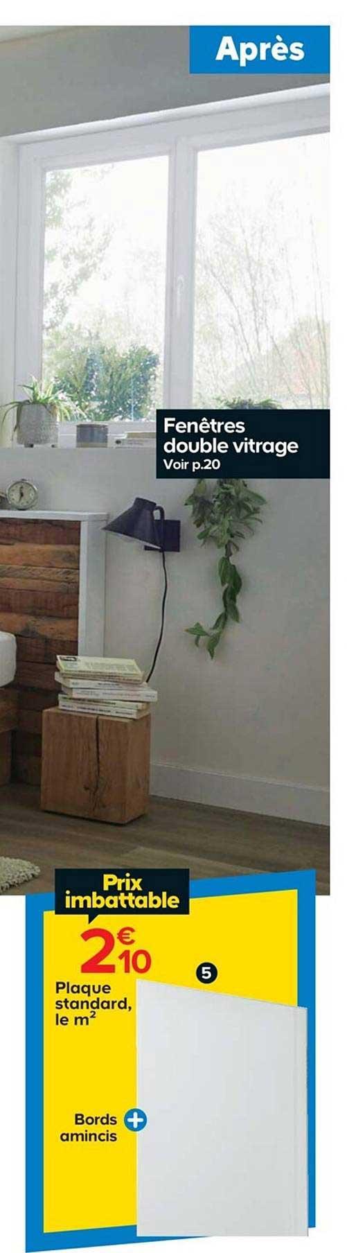 Offre Fenetres Double Vitrage Chez Castorama