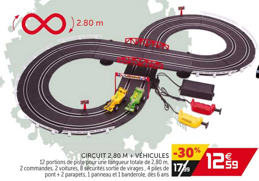 offre circuit 2 80 m vehicules chez gifi