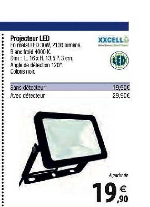 Offre Projecteur Led Chez Tridome