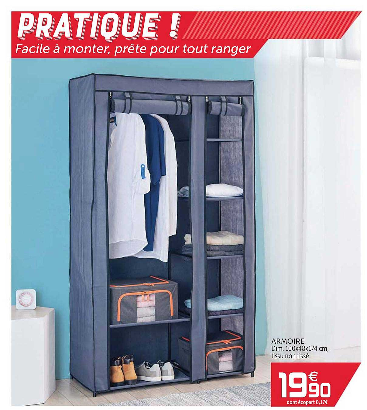 Balayage Impermeable En Forme Armoire A Bijoux Gifi Spirale Rapide Armee