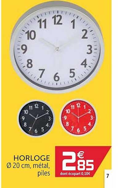 Offre Horloge Chez Gifi