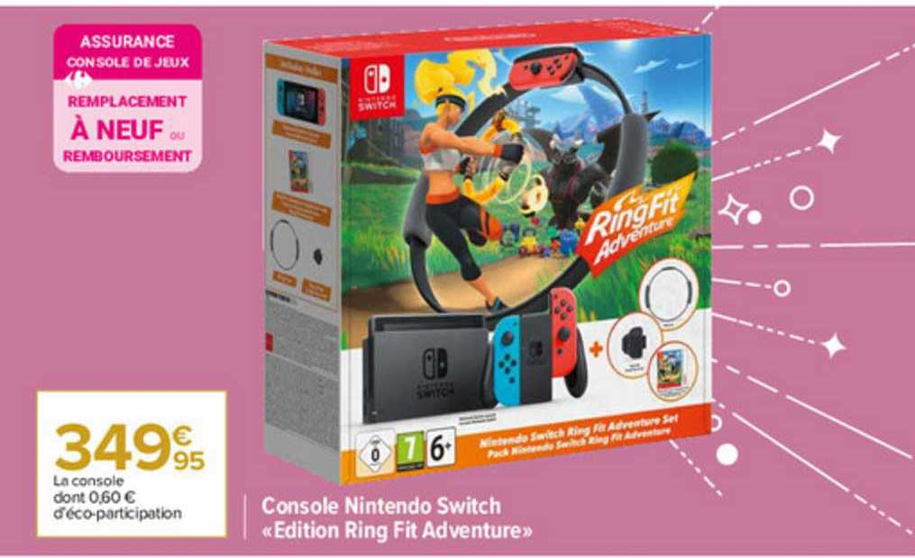 offre console nintendo switch edition