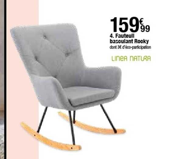 offre fauteuil basculant rocky linea