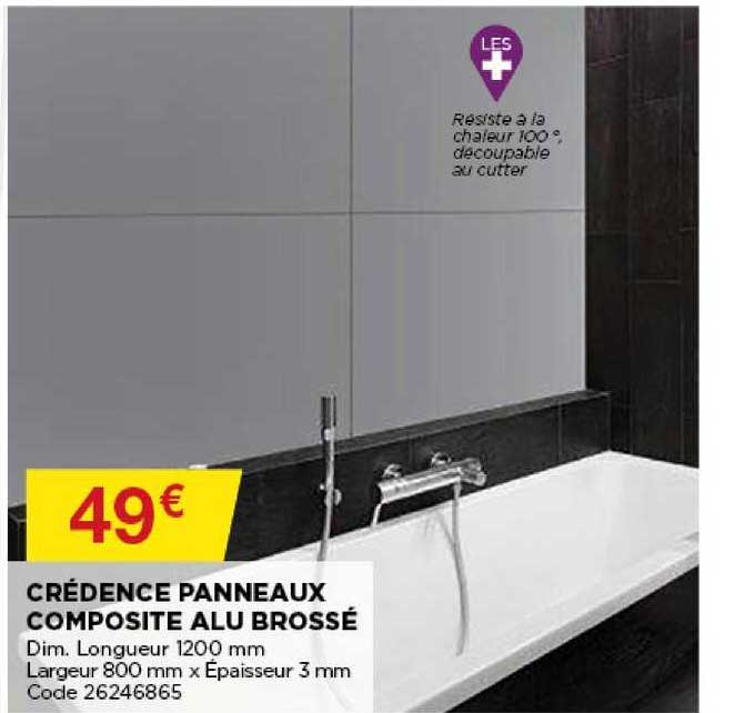 offre credence panneaux composite alu