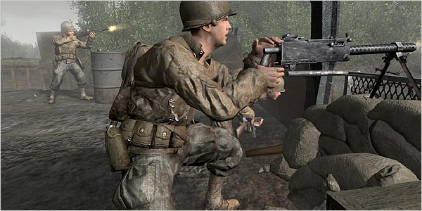 Video Game Makers Are Battling Sinking Stock Prices   The New York Times Call of Duty 2 is made by Activision  whose shares have fallen 17 percent  this year as the industry moves to a new generation of consoles  Credit  Activision