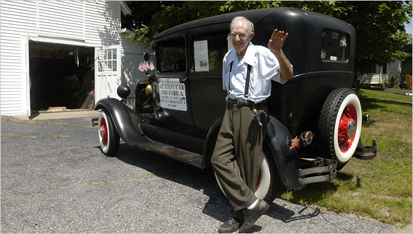 84 Years Old and Still Driving His First Car