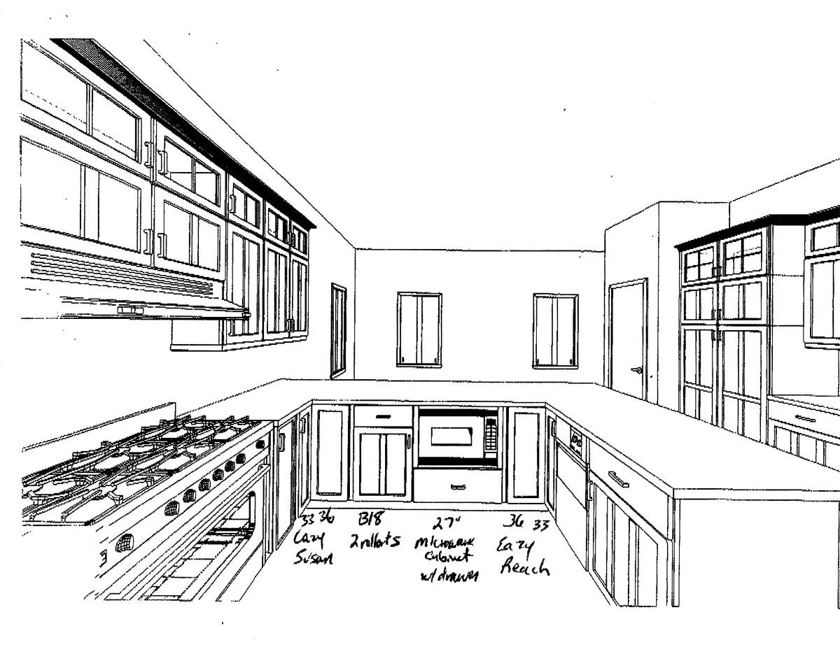 Finally A Kitchen