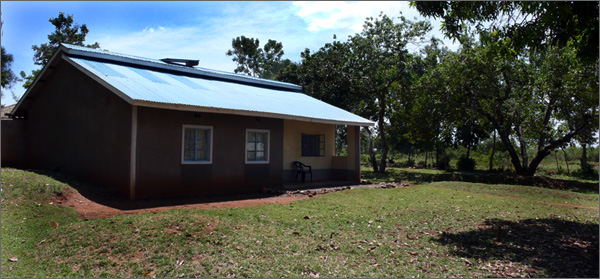 The Obama home in Kogelo, Kenya.