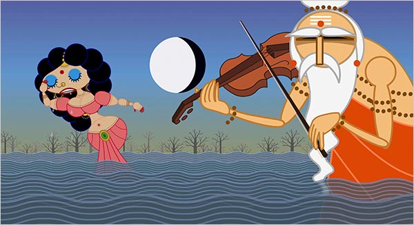 Nina Paley S Sita Sings The Blues Turns A Hindu Goddess