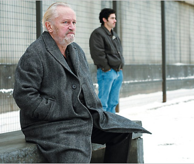 Niels Arestrup Left As A Crime Boss And Tahar Rahim As An Arab Inmate In A Prophet Credit Roger Arpajou