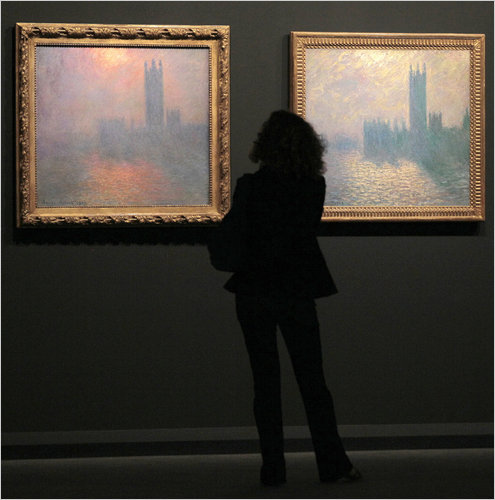 paris rediscovers monet s magic at grand palais