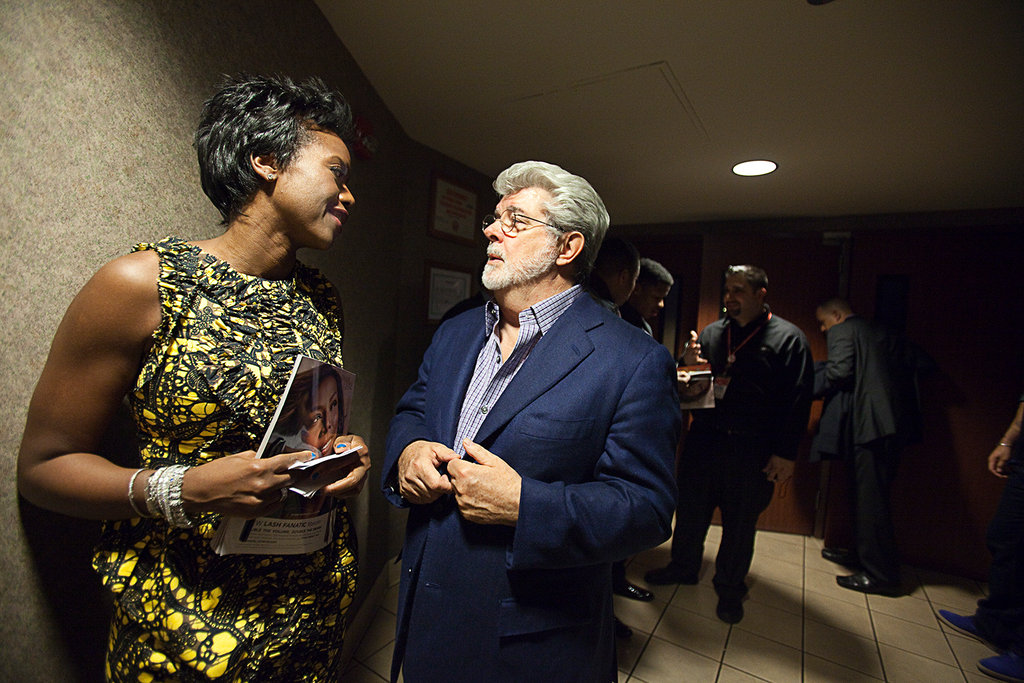 George Lucas Is Ready To Roll The Credits The New York Times
