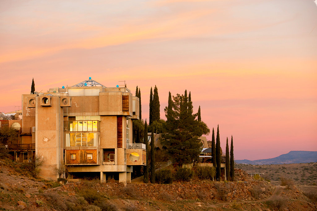 Arcosanti An Early Eco City Faces The Future The New