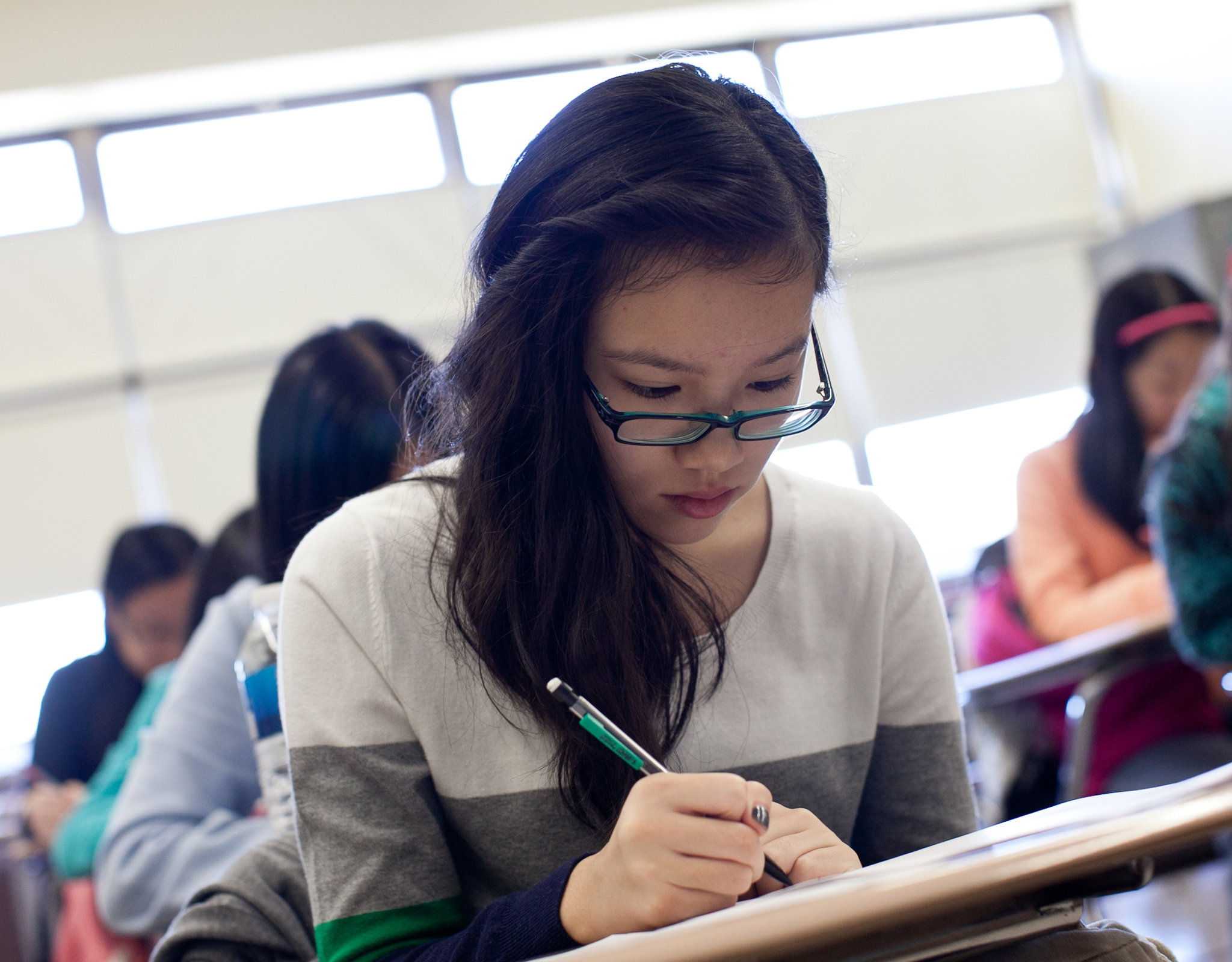Asians Success In High School Admissions Tests Seen As Issue By Some