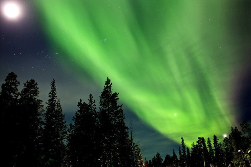 Northern Lights Above And Beyond