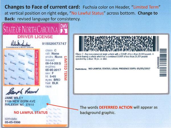 Drivers 2013 North 2013 Drivers Carolina License Carolina License North