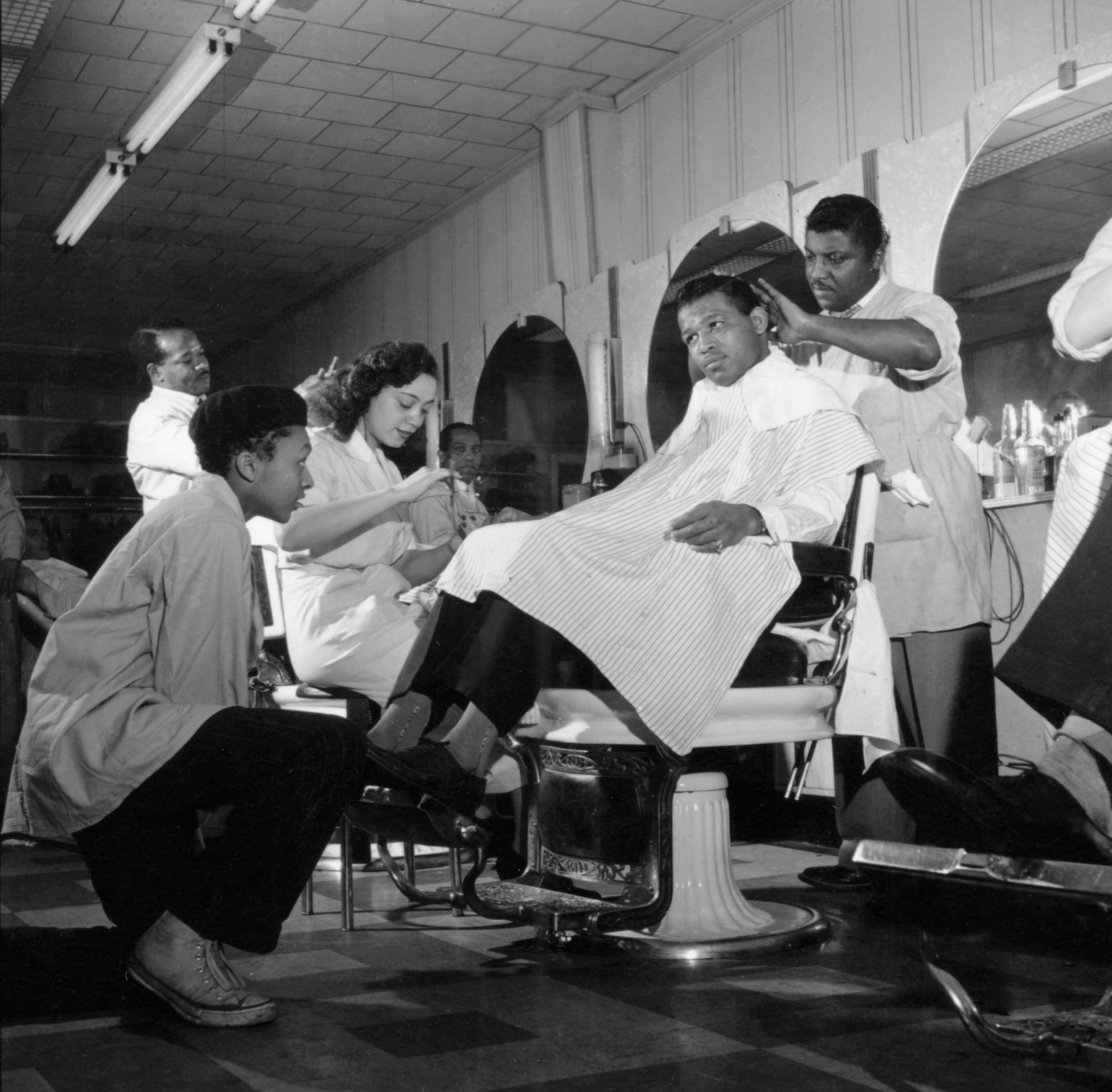 Once The King Of Harlem Hairdressers Now Nearly Forgotten